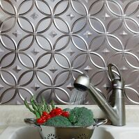 Kitchen Backsplash Decorative Vinyl Panel Wall Tiles Bathroom Bath Tin Metal