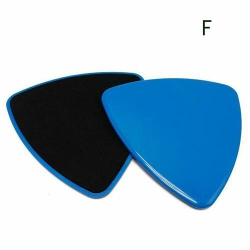 2x Gliding Discs Disc Core Sliders Doppelseitige Fitness Heimgymnastik Abs F7U0