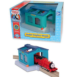 Thomas & Friends Trackmaster Train Sodor Engine Wash Exclusive Blue Color | NEW