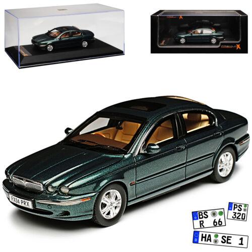 Jaguar X-Type Limousine Grün 2001-2009 1//43 IXO PremiumX Modell Auto mit oder oh