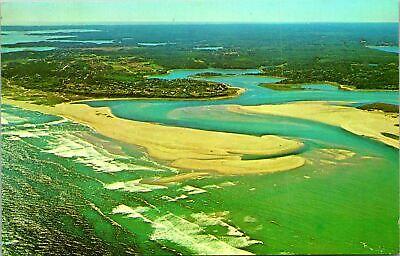 Eastham Aerial Cape Cod Seashore 1960 MA | eBay