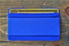 GIGI Mobile Cell Phone Finger Strap Gripper w/ Credit Card Holder/Wallet (Blue)