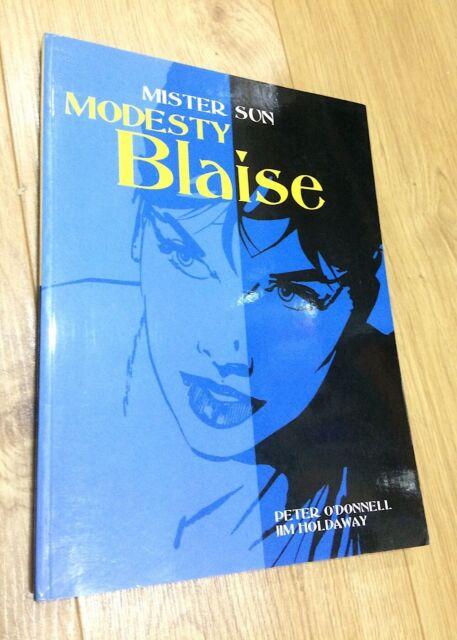 Peter O'Donnell MISTER SUN Modesty Blaise paperback 1st ed 2004