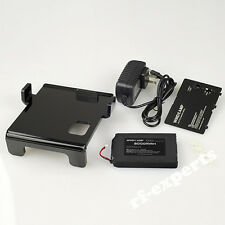 NEW FT-817 rechargeable lithium ion battery pack + charger + cover + bracket kit