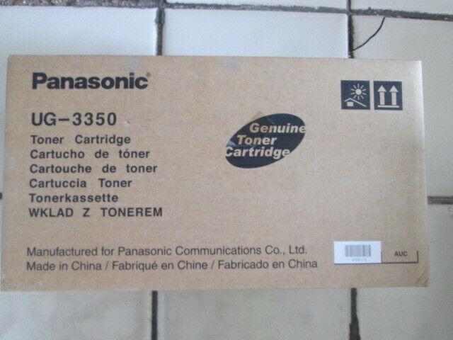 Genuine Original Panasonic UG 3350 Black Toner Cartridge UF-585 590 595