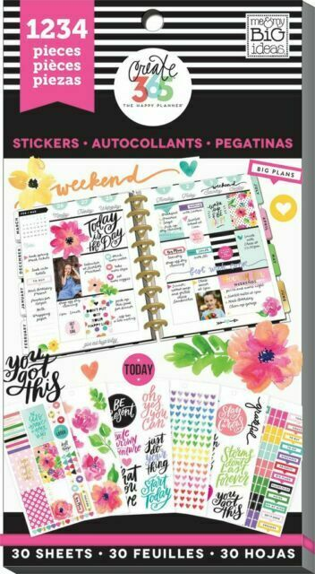 """me /& my big ideas create 365 /""""PRODUCTIVITY/"""" Value Pack Stickers"""