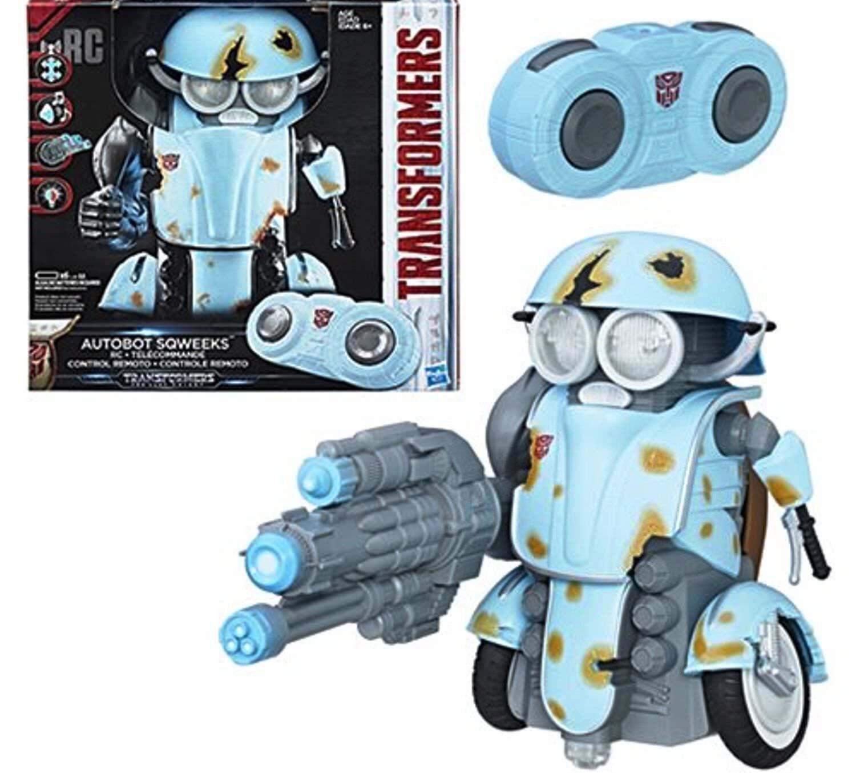 Transformers 5 The Last Knight - Sqweeks - RC NEW in Box