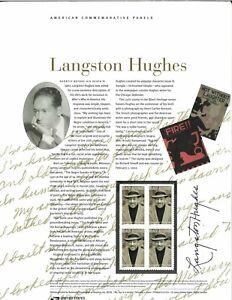 USPS-COMMEMORATIVE-PANEL-647-LANGSTON-HUGHES-3557