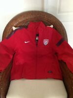 Nike authentic Usa national team red  Soccer jacket NWT  Sz L Men's