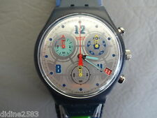 SWATCH MONTRE BRACELET CHRONOMETRE HOMME GOOOAL BRESIL ASCZ401BR FOOT MAN WATCH