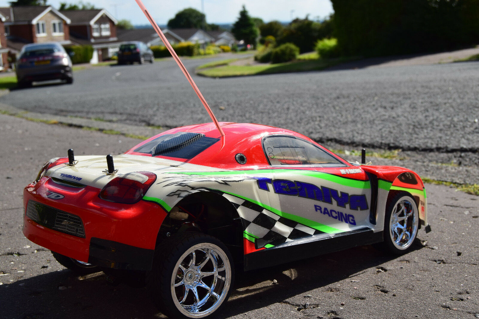 TOYOTA MR2 RECHARGEABLE RADIO REMOTE CONTROL CAR 1 10 RC CAR SPEED 20 MPH
