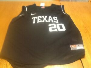 best service 9452d 31dd3 Details about Nike team issue texas longhorns sleeveless basball practice  jersey, mens large