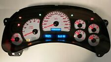 Rb 05 06 2005 2006 Custom Ss Red Led Whole Cluster Fits Gmc Chevy Trucks And Suv