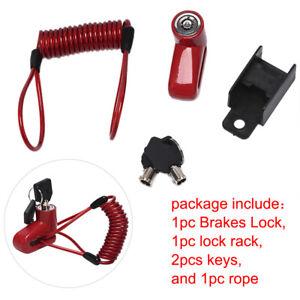 Anti-Theft-Disc-Brakes-Lock-With-Steel-Wire-Electric-Scooter-Wheels-Lock-Bra-FJ