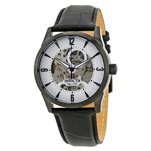 Invicta-Objet-D-Art-Automatic-Silver-Skeleton-Dial-Mens-Watch-22639