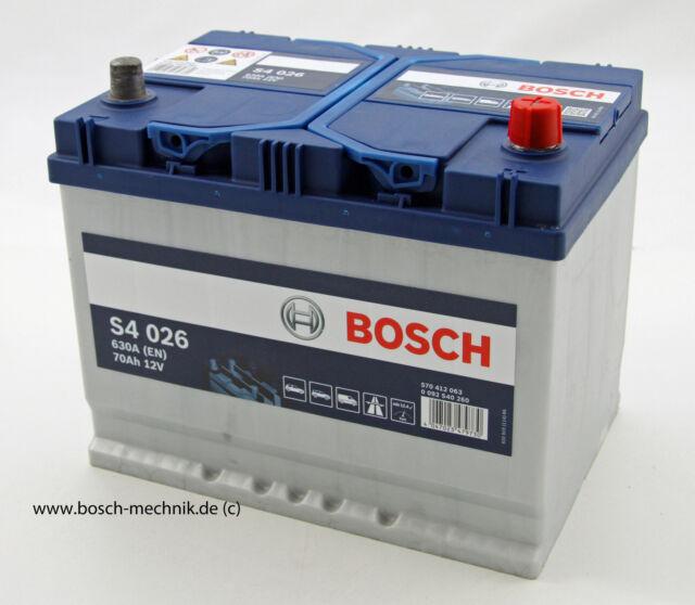 Bosch Starterbatterie S4 12V70 Ah   0092S40260