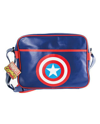Vendita Professionale Captain America Borsa Bag Messenger Official Merchandise Lucentezza Luminosa