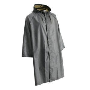 Herren-Gummi-Regenmantel-Arbeitsschutz-Regenmantel-verdicken-Poncho-Tuch