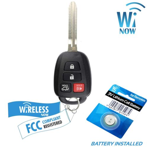 Car Key Fob Keyless Entry Remote 4B For 2013 2014 2015 2016 2017 Toyota Rav4