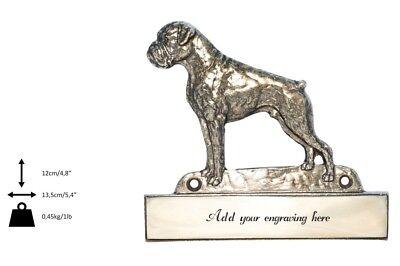 2019 Mode Boxer - Messingplatte Mit Der Inschrift 'welcome' Art Dog De Typ 2 Neue Sorten Werden Nacheinander Vorgestellt