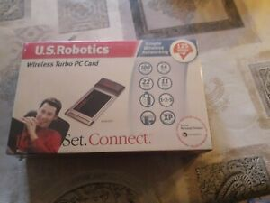 US Robotics 125 Mbps Wireless Turbo PC Card Internal 125Mbit/S Network And A