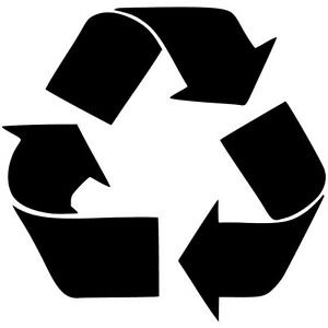 Recycle-Logo-Vinyl-Sticker-Decal-JDM-Earth-Environment-Choose-Size-amp-Color