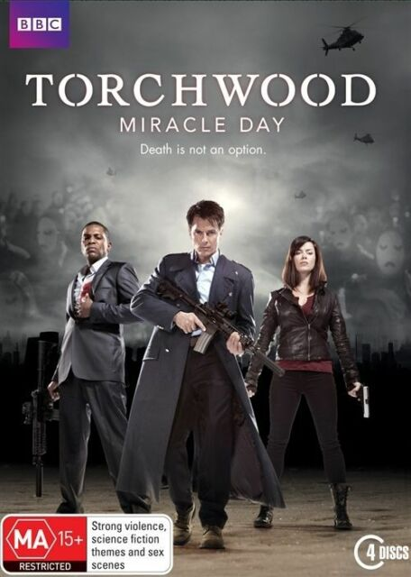 Torchwood - Miracle Day : Series 4 (DVD) - Brand New & Sealed