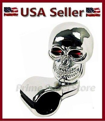 Arenbel Skull Steering Wheel Knob Spinner Car Grip Suicide Control Handle Knobs Turning Aid fit Most Vehicle//Truck Beige