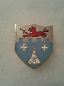 Authentic-US-Army-12th-Infantry-Regiment-DI-DUI-Unit-Crest-Insignia-NH