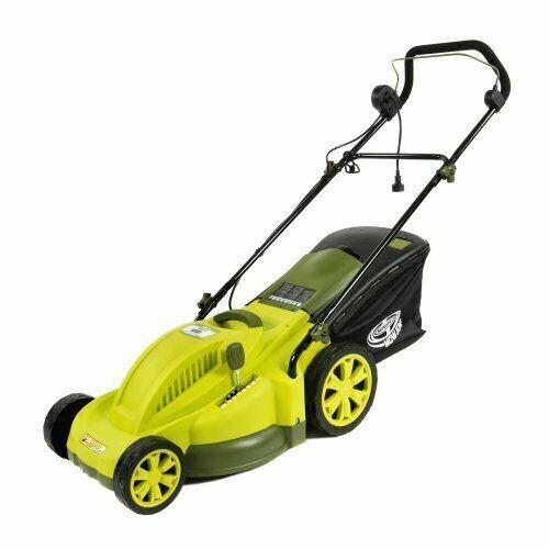 Sun Joe MJ403E Mow Joe 13-Amp Corded Electric Lawn Mower, 17