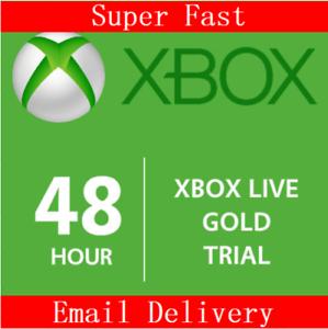 XBOX-LIVE-2-giorni-48-ore-Oro-Codice-di-iscrizione-di-prova-VELOCE-consegna-gratuita