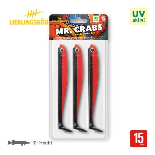 Crabs 15 cm Gummifisch Lieblingsköder Shad Mr