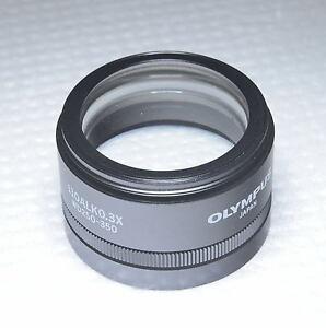 Adroit Olympus Sz51 Sz61 Objectif De Microscope 110alk 0.3x Wt Réglable Wd 250 To 350 Mm-afficher Le Titre D'origine RéTréCissable