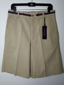 Robert-Graham-Khaki-Chino-Shorts-NWT-98-Mens-Size-32