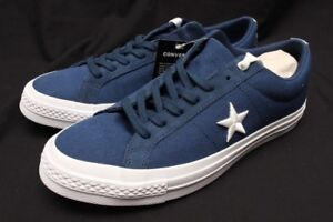 32762399bf89 Image is loading CONVERSE-ONE-STAR-OX-NAVY-WHITE-160598C