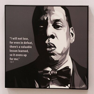 Jay-Z #2 canvas quotes wall decals photo painting framed pop art poster