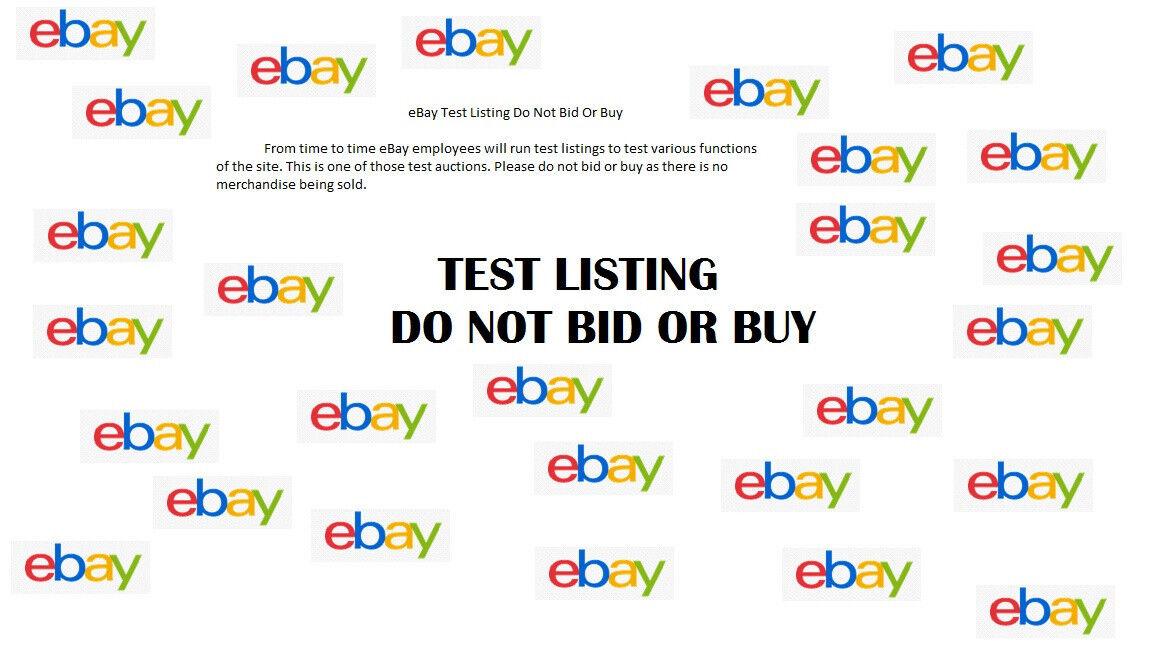 Test listing DO NOT BID OR BUY183534221433