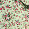 150cm Wide Cream White Pink Small Rose Print Floral Print Cotton Poplin Fabric