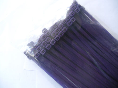 Bridas de colores en calidad industrial 4,8x200 mm en lila 1000 unid.