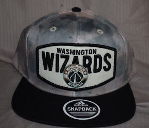 dfcdcc736 Details about Mens adidas NBA Washington Wizards Snapback Hat Cap NWT