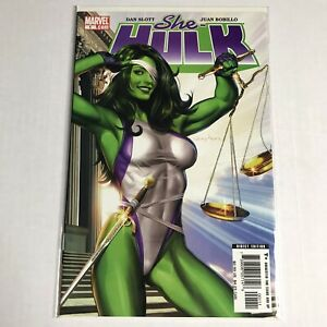 She-Hulk-1-Marvel-Comics-2005-VF-NM-8-5-9-0-Greg-Horn-Young-Avengers-Disney