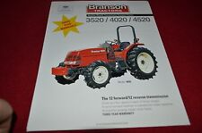 Branson 3520 4020 4520 Tractor Dealer's Brochure YABE12