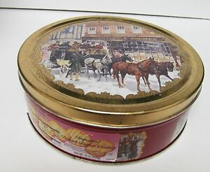 Image Is Loading HUNTLEY Amp PALMER Collectible Cookie Tin Storage DENMARK