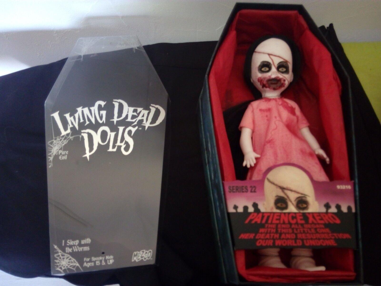 LIVING DEAD bambolaS EXCLUSIVE PATIENCE XERO COMPLET