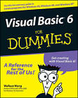 Visual Basic 6 For Dummies by Wallace Wang (Paperback, 1998)