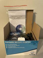 Terow Thermal Receipt Printer Usb 58mm Pos 5890k Open Box