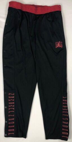 Men/'s Nike Jordan Jumpman Snap Button Sides Basketball Athletic Pants