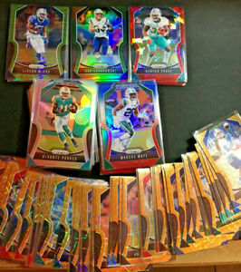 2019 Prizm Football Cards Parallel Base Singles (Pick your card from list) 1-250