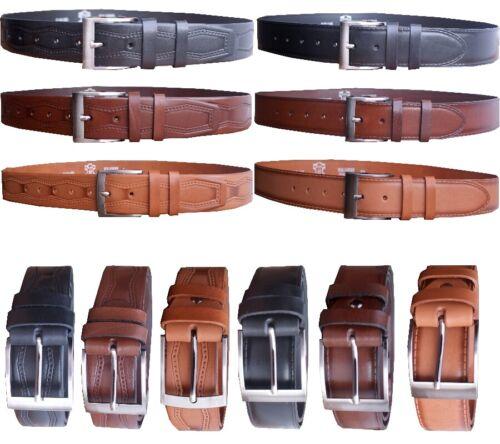 JEANS gürtel,4mm dickes leder,95-120 cm NEU! Ledergürtel