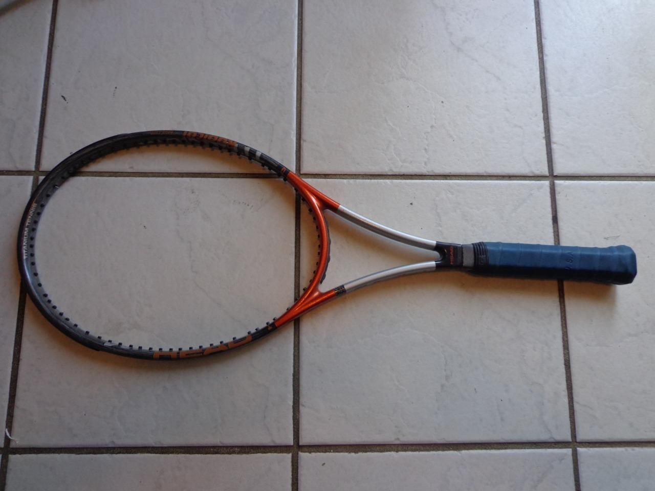 Cabeza Ti. radical Midplus 98 cabeza Austria 4 3  8 de agarre excelente tenis raqueta  centro comercial de moda